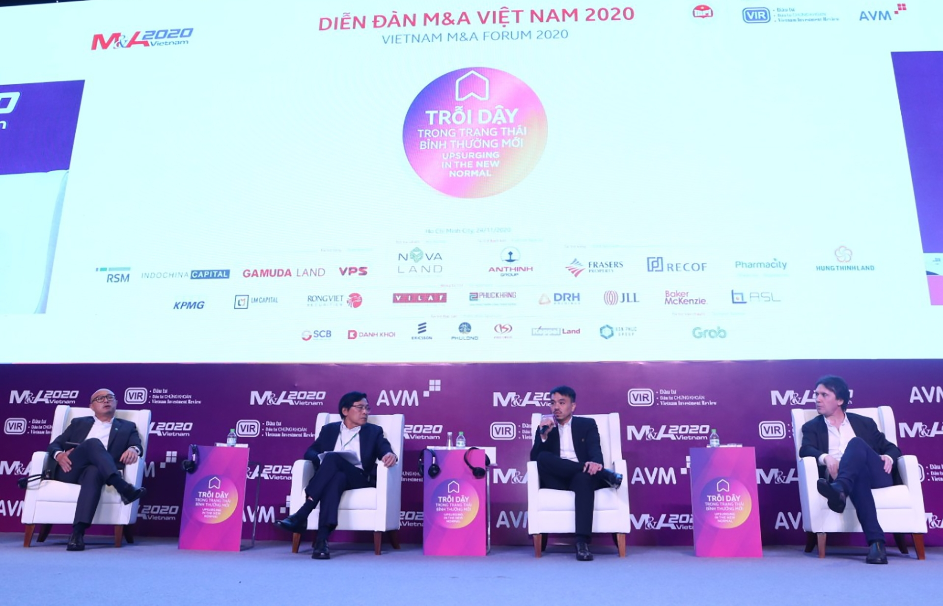 Experts pinpoint M&A opportunities in new normal (photos)