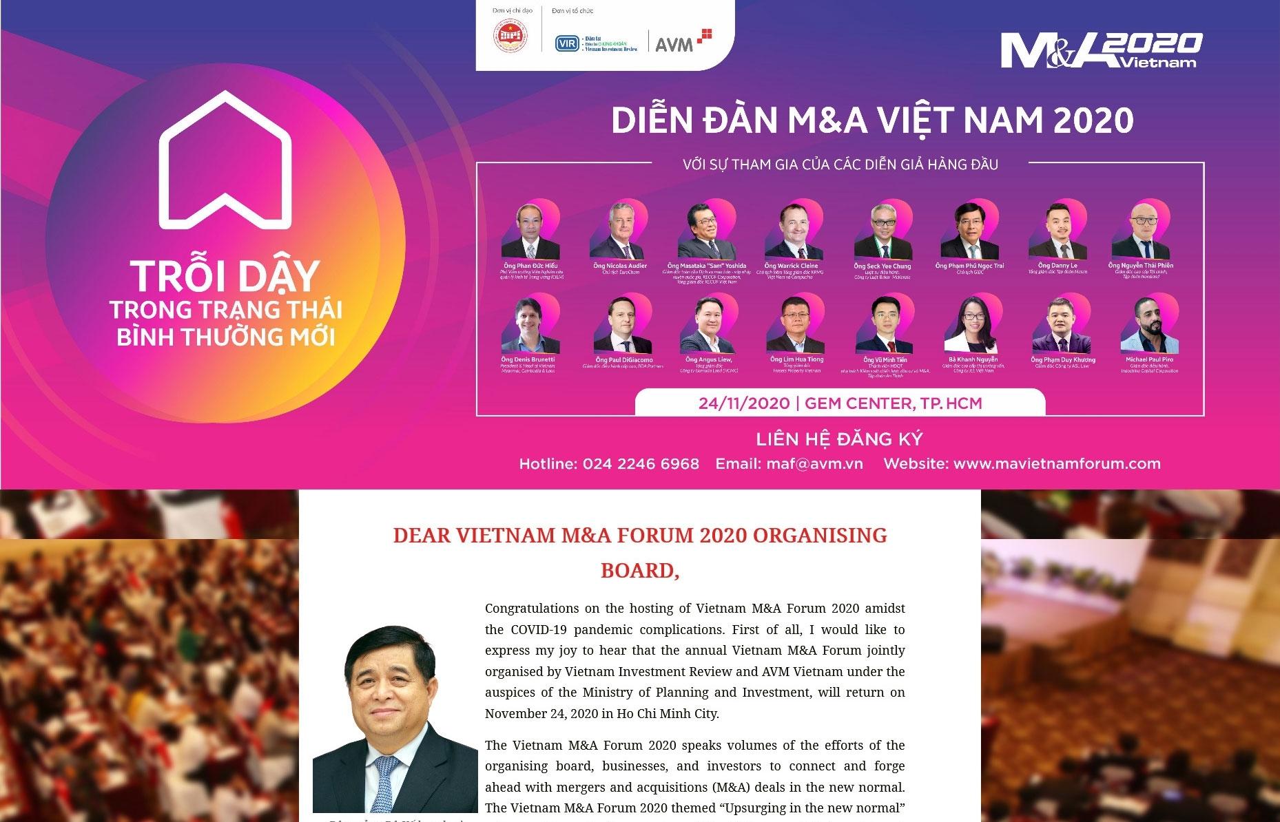 Vietnam M&A Forum 2020 directory