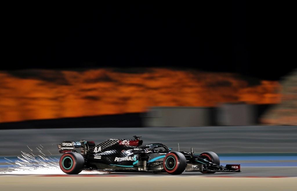 Hamilton wins Bahrain Grand Prix as Grosjean escapes fiery wreck