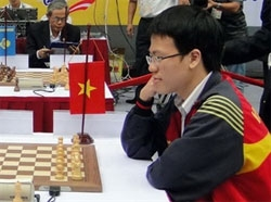 Le Quang Liem attends Sportaccord World Mind Games