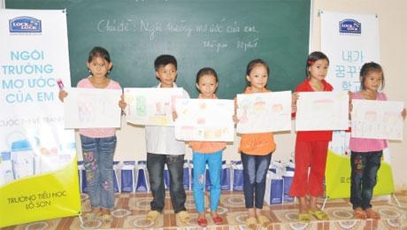Lock & Lock's CSR  stars commitment