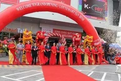 lotte mart opens new supermarket