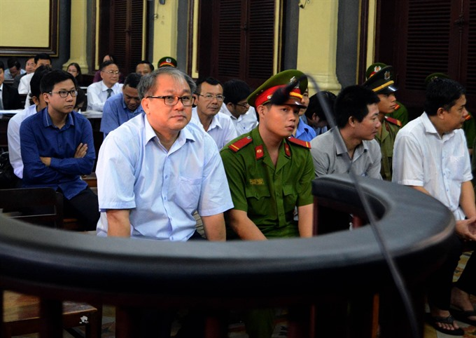 Court hears Việt Nam Construction Bank ex-officials' appeal