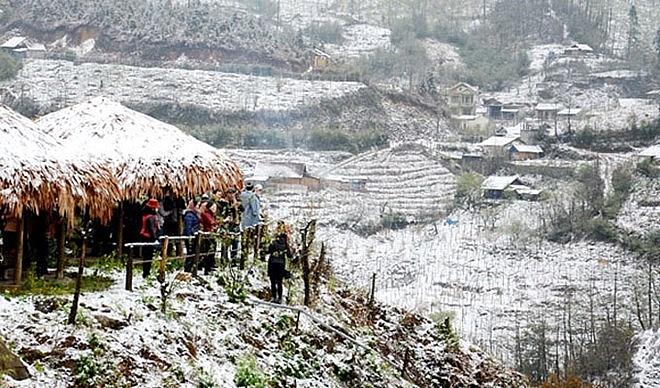 sa pa winter festival 2018 in full swing