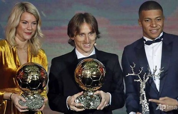Luka Modric wins Ballon d'Or