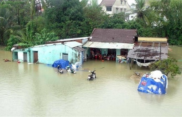 Floods in central region leave two dead, three missing