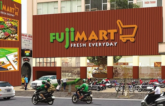 Infusion of Vietnamese and Japanese retail at Fuji Mart