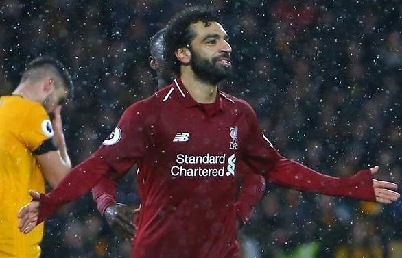 Salah and Van Dijk seal Christmas top spot for Liverpool