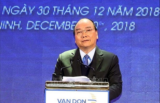 PM launches major infrastructural facilities in Quang Ninh