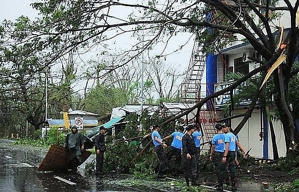 One killed as Typhoon Kammuri pounds Philippines, forces Manila airport closure