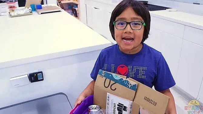 eight year old is highest paid youtuber earns us 26 million in year