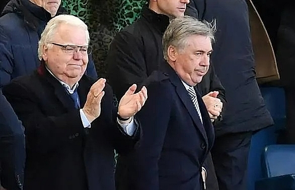 Ancelotti wants Everton to aim for Europe