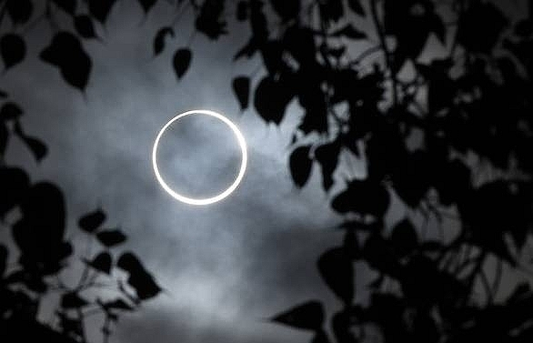 'Ring of fire' eclipse wows across Asia