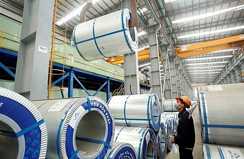 shares continues to rise led by steel and property stocks