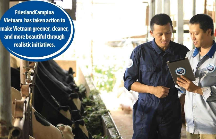 FrieslandCampina's call to action for development drive