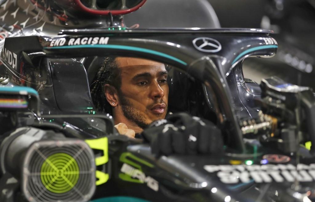 Hamilton and Russell in season-ending Abu Dhabi waiting game