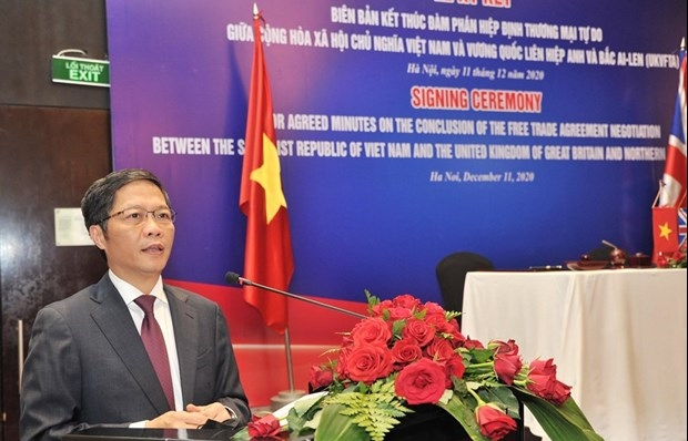 Vietnam, UK issue joint statement concluding free trade negotiations