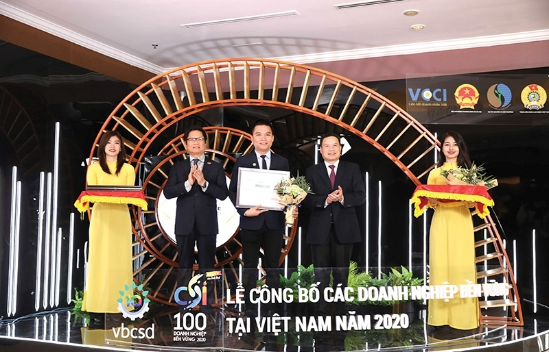 Herbalife Vietnam recognised among nation's most sustainable companies