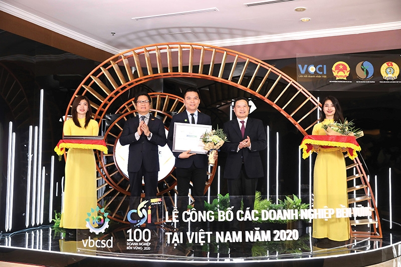 herbalife vietnam recognised among nations most sustainable companies
