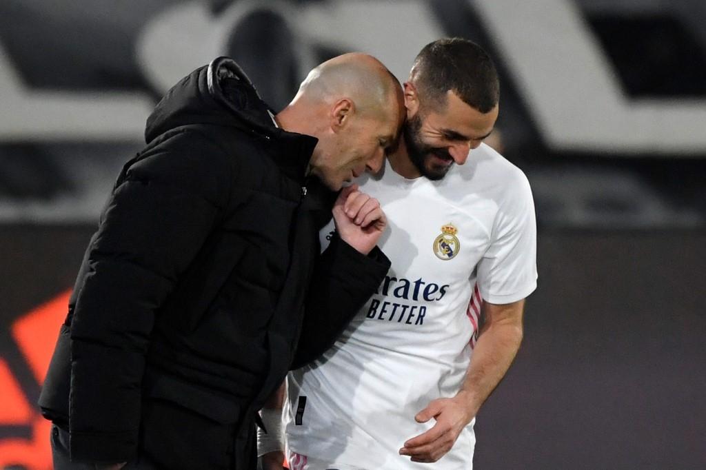 zidane hails benzema as best ever france centre forward