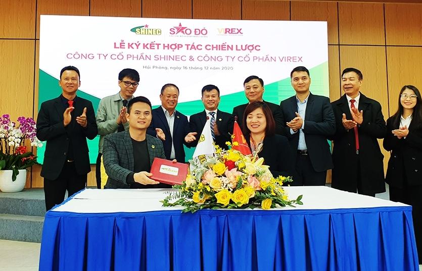 Shinec and Alphanam enter into a strategic cooperation