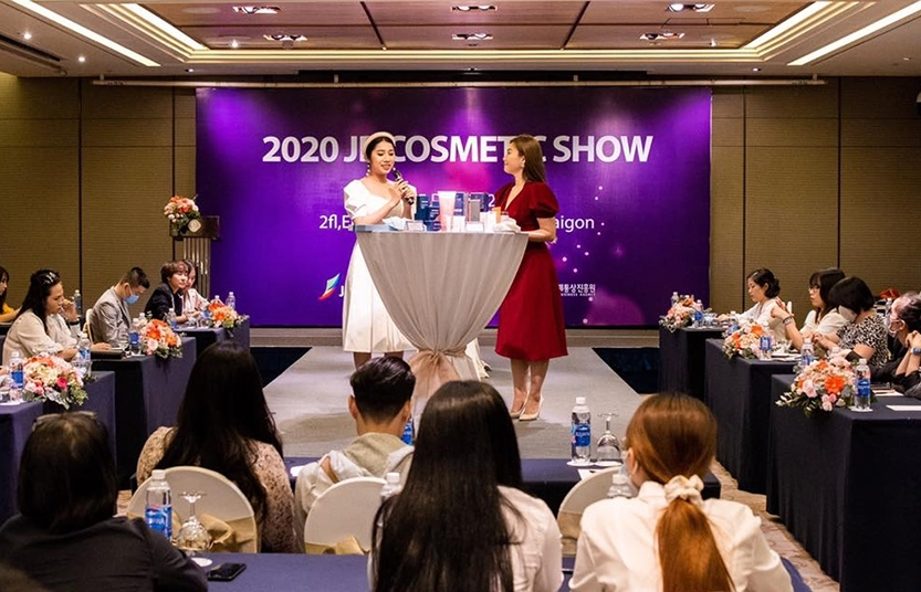 JBC Hanoi organises a trade show to promote Korean comestic products