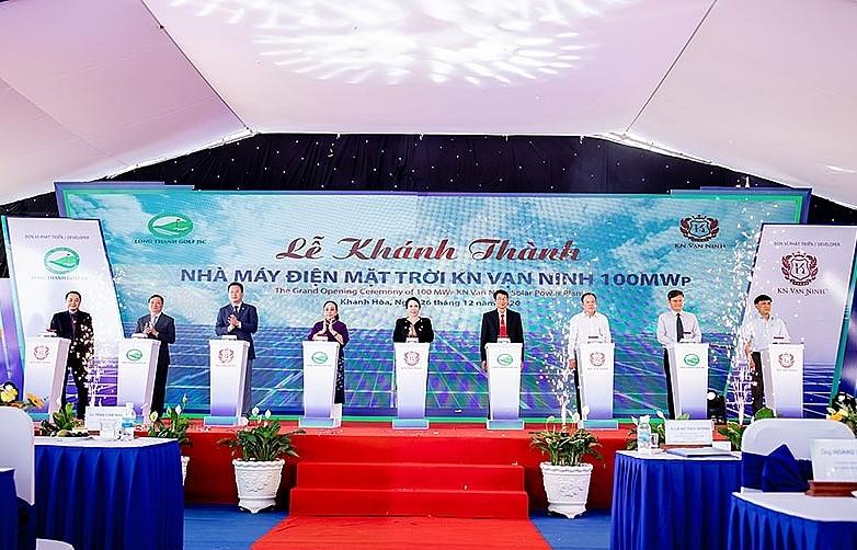 $87 million solar power plant inaugurated in Khanh Hoa