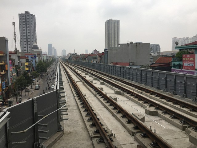 Cat Linh-Hadong metro line to come into commercial operation in 2018