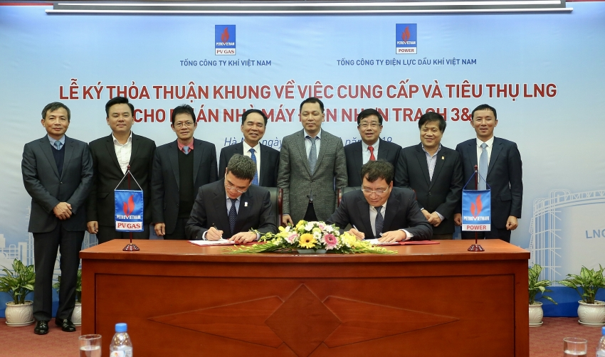 pv gas and pvpower co operate for nhon trach 3 and 4 power plants