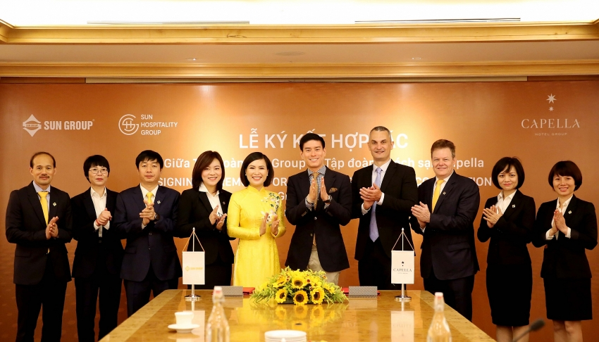 sun group brings one of worlds most prestigious hotel brands to hanoi