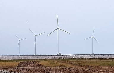 cong ly kicks off two more wind power projects