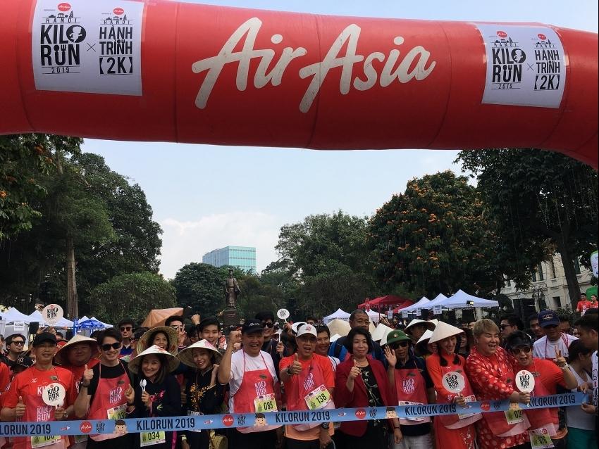1,500 runners join KILO RUN HANOI 2019