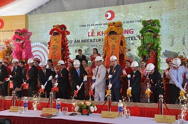 mikazuki group launches first five star resort in danang bay