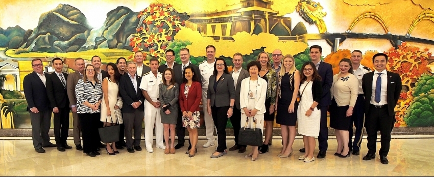 Sheraton Grand Danang welcomes US delegation for silver jubilee of diplomatic relations