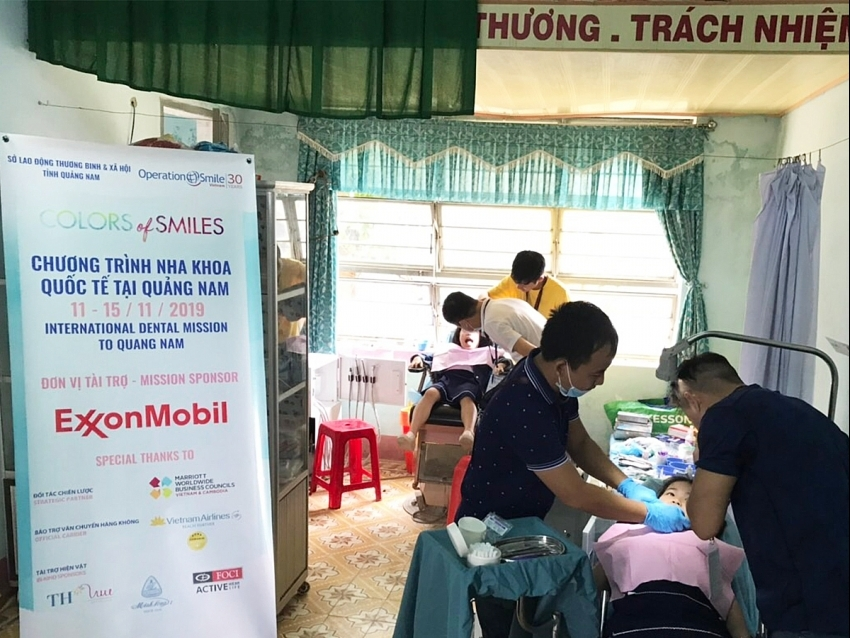 ExxonMobil continues supporting children's healthcare in Central Vietnam