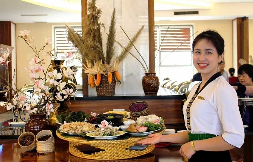 Discovering specialities of Northwest Vietnam at Muong Thanh New Year Festival