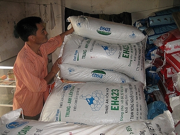 Animal feed imports soar in first two months