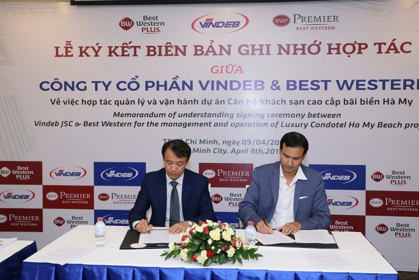 best western signs mou for quang nam resort opportunity