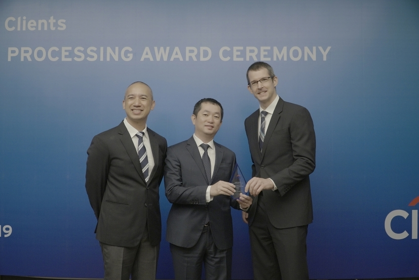 eximbank receives international stp award from citibank