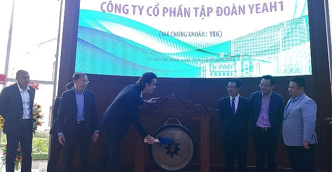 Yeah1 shares hit ceiling on first transaction day