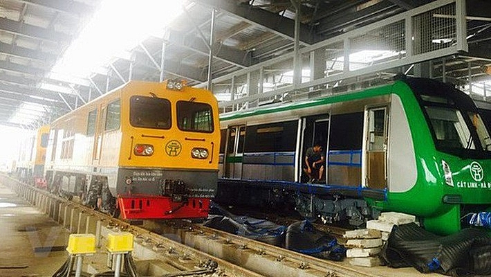 cat linh hadong elevated railway to go into trial operation in august