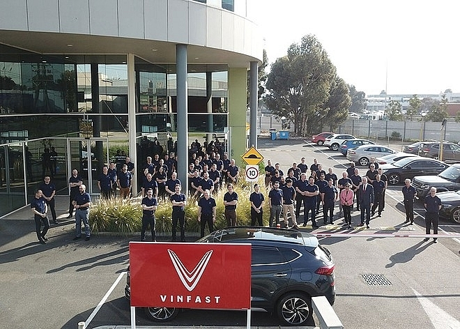 VinFast officially launches office in Australia