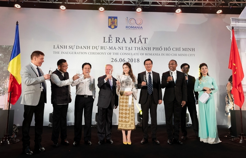 Honourary Consulate of Romania opens in Ho Chi Minh City