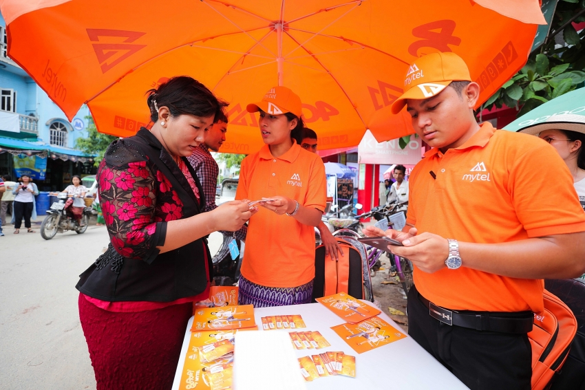 viettel signs up two million subscribers with mytel within one month in myanmar