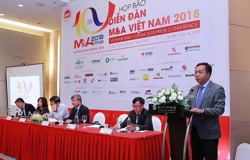 Vietnam M&A Forum: Top ten deals in 2009-2018