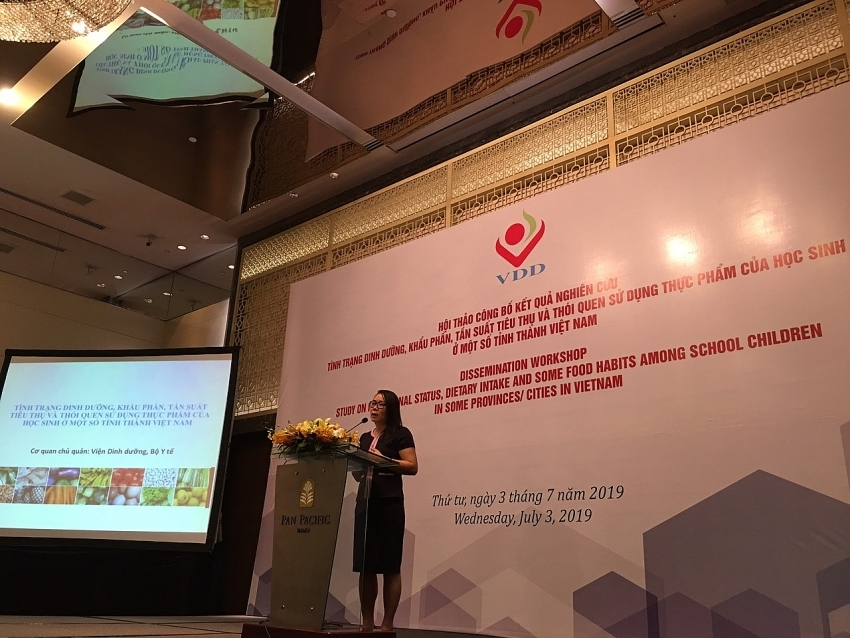 NIN shows shortcomings in nutrition and physical activity in children