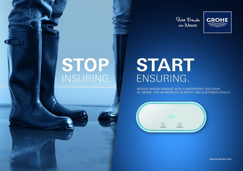 LähiTapiola and GROHE launch water damage insurance at DIA Amsterdam