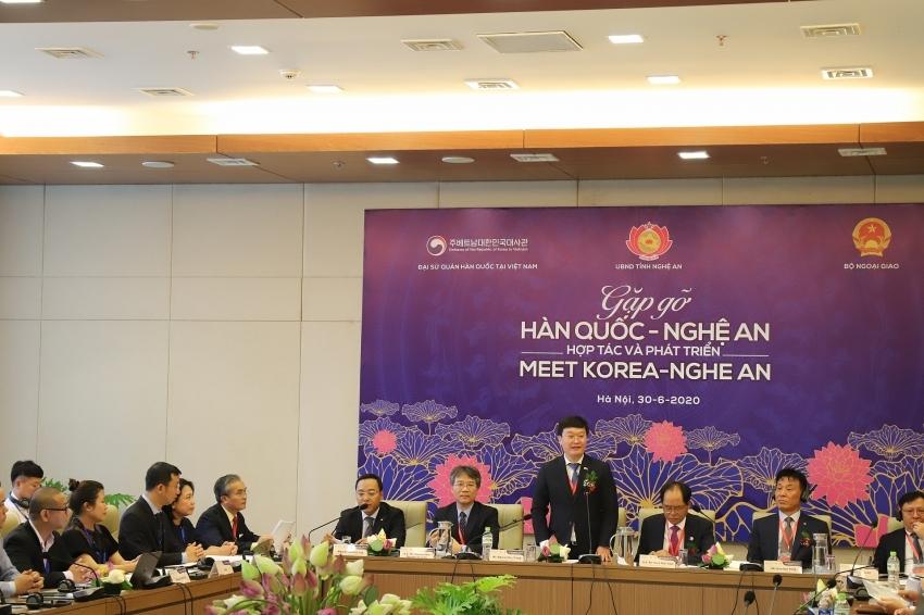 WHA IZ 1: spotlight in Nghe An for South Korean investors