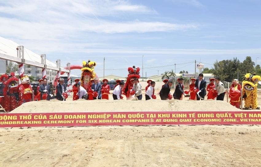 Quang Ngai and Doosan bring a new industrial cluster to Dung Quat EZ