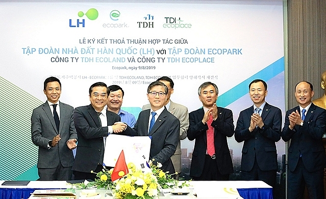 TDH Ecoland co-operates with LH Group to develop industrial parks